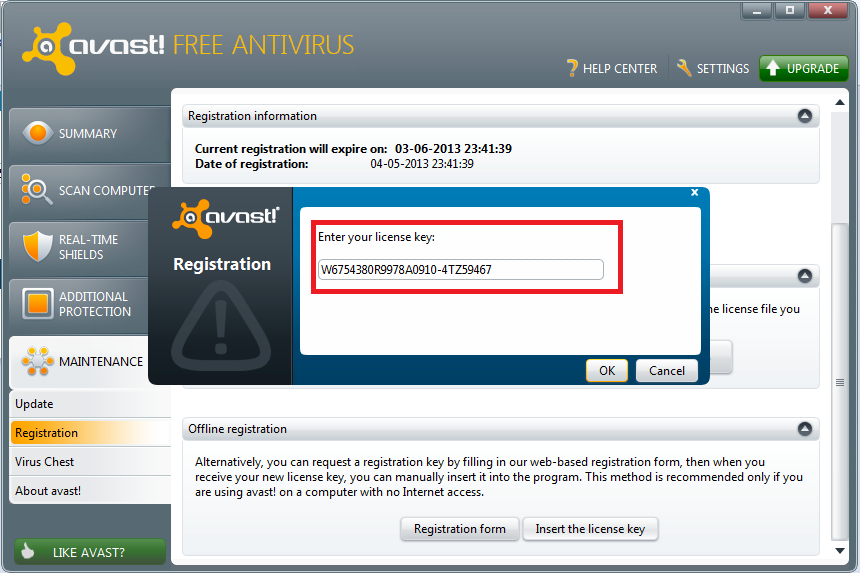 Avast Internet Security Activation Code 2038