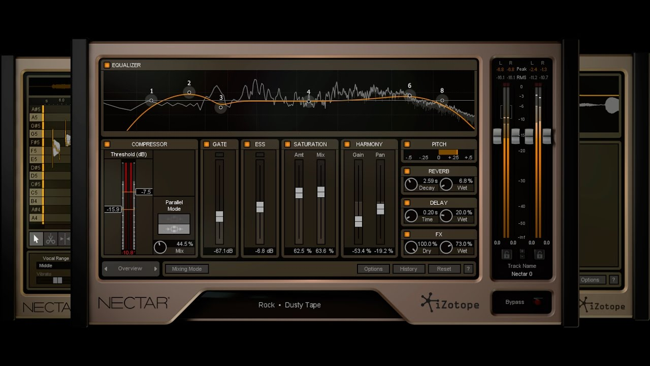 IZotope Nectar Crack Key Free Download