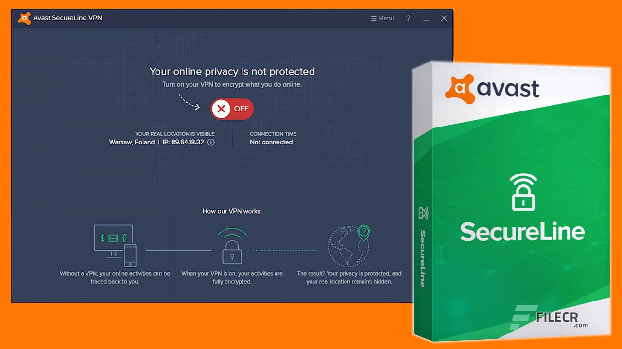 Image result for Avast SecureLine VPN 2020 Crack