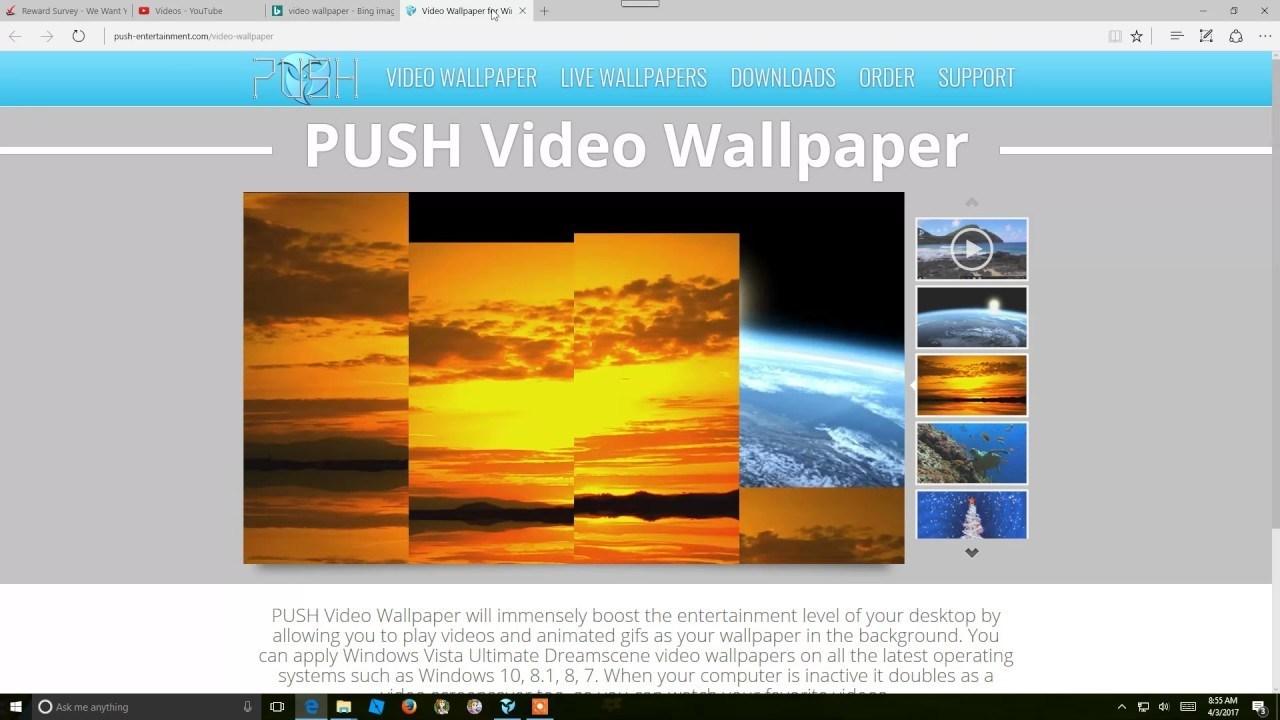 PUSH Video Wallpaper 4 Crack