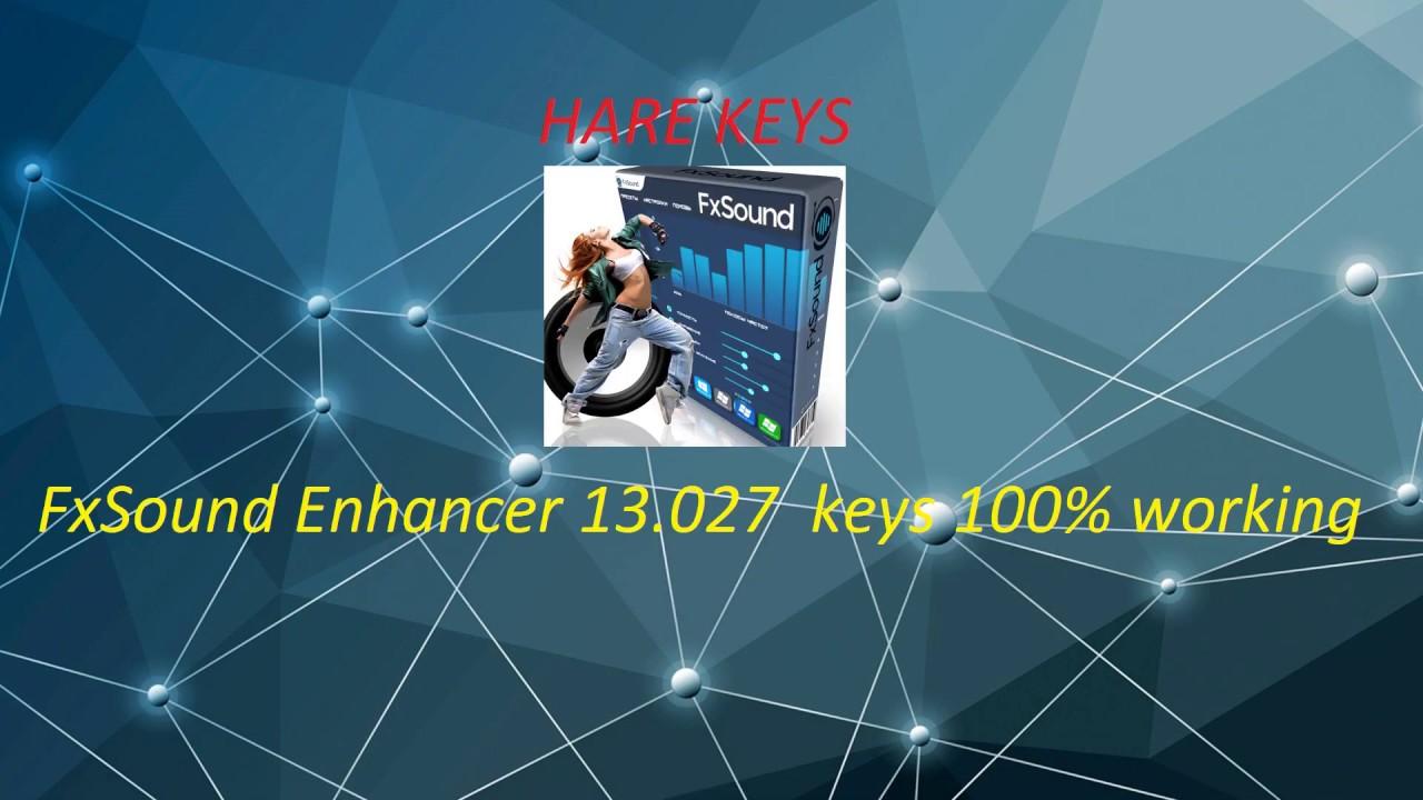 FxSound Enhancer 13 Crack