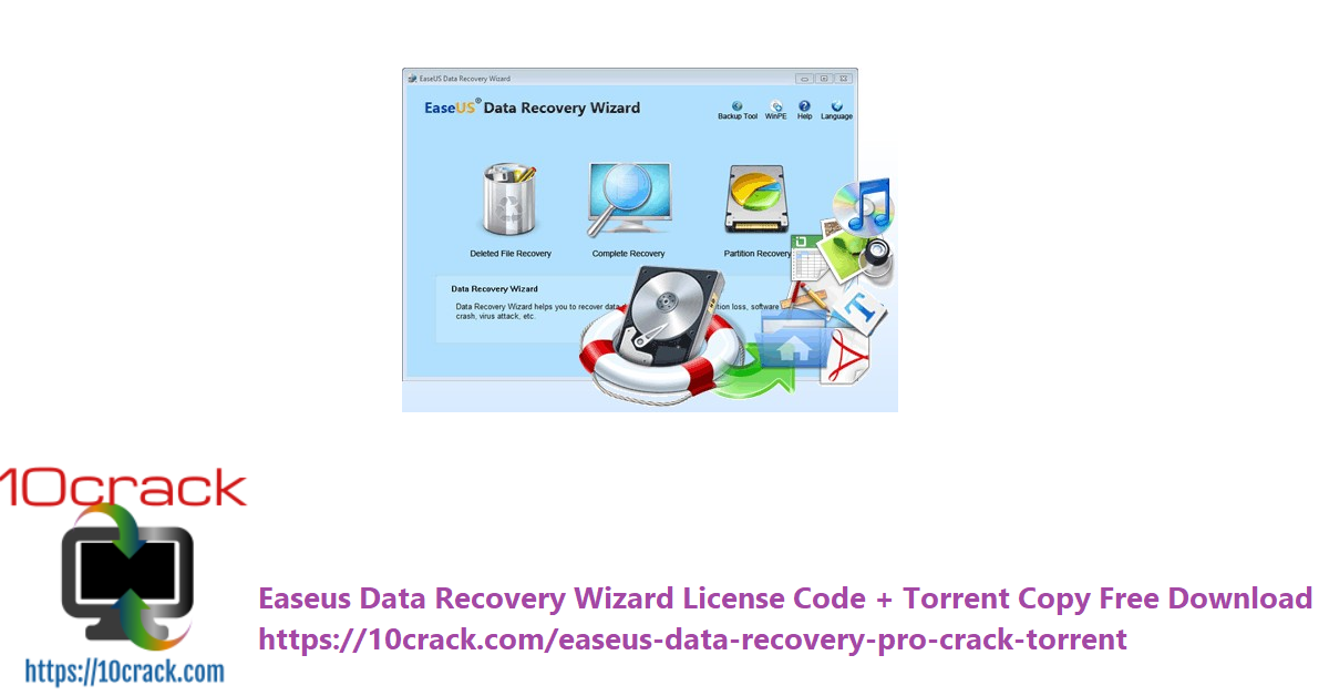 Easeus Data Recovery Wizard License Code + Torrent Copy Free Download