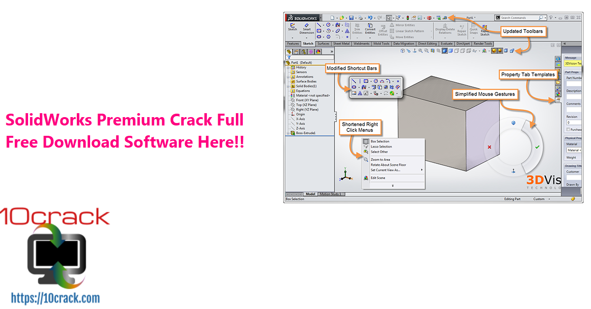 SolidWorks Premium Crack Full Free Download Software Here!!
