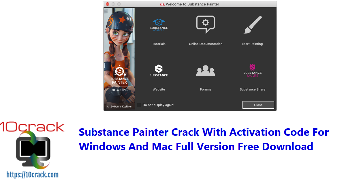 Substance Painter 6.2.2.661 Crack With Activation Code For Windows And Mac