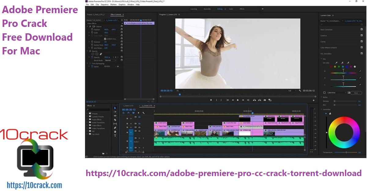 Adobe Premiere Pro Crack Free Download